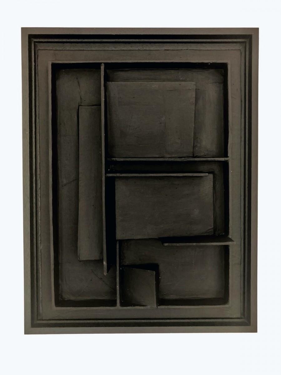 Black square front