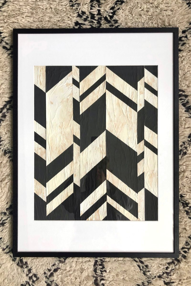 Graphic Chevron M small
