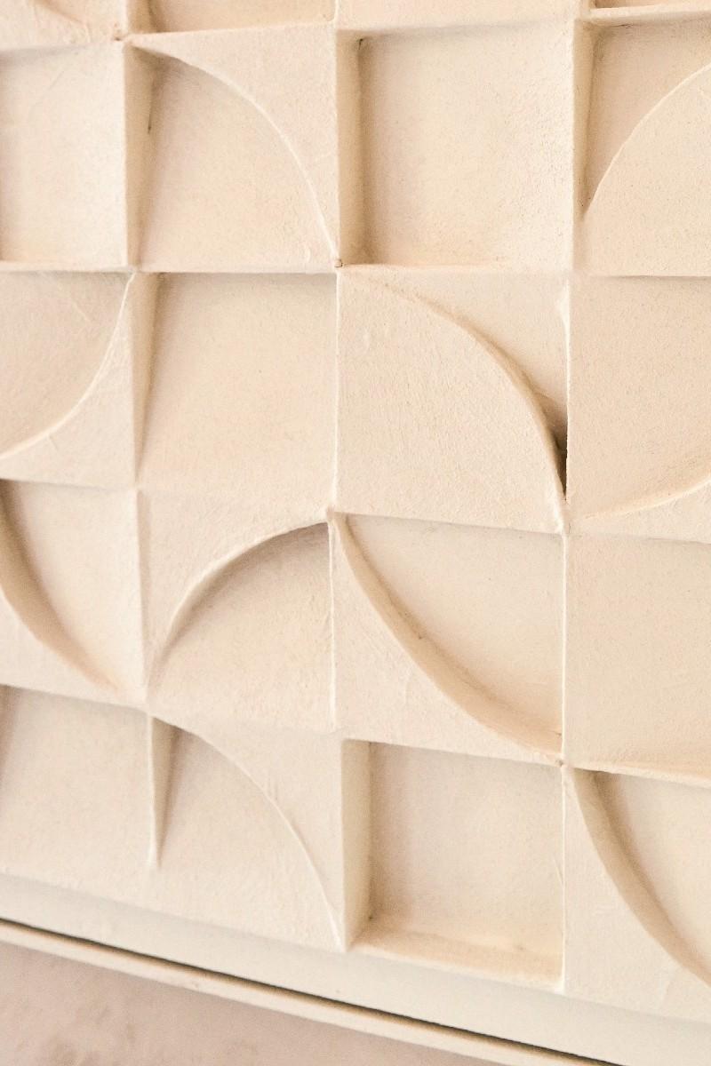 White parts puzzle detail